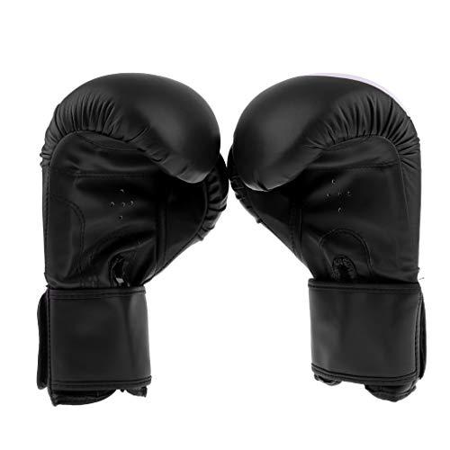 Desconocido Generic Guantes de Boxeo para Niños Muay Thai MMA Sparring Punching Fighting Training - Negro