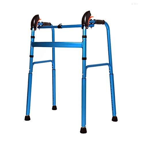 LHNLY-Rollatoren Treppen Gehhilfen für Senioren Zuhause - Gehwagen Gehhilfe Krücken Stock für Behinderte - Stockhalter Laufhilfe Für die Mobilität zu Indoor und Outdoor
