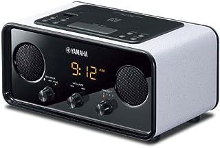 YAMAHA雅马哈 TSX-B72 蓝牙2.1复古音响 收音闹铃 桌面音箱 白色 (亚马逊自营商品, 由供应商配送)