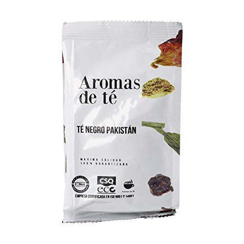 Aromas de Té | Té Negro Pakistan 100gr | Té Negro Digestivo y Antioxidante con Clavo, Canela Cardamomo, Vainilla | Infusión Detox | Té Negro de Sabor Picante y Fresco