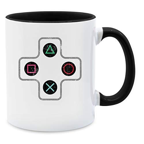 Statement Tasse - Gamer Controller - Unisize - Schwarz - Tasse kontroller - Q9061 - Tasse...