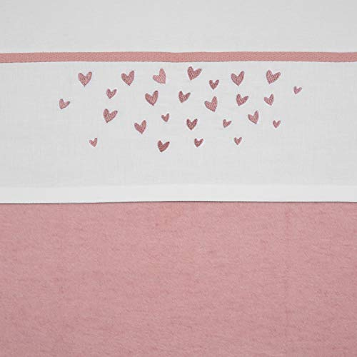 Meyco 414044 Ledikantlaken hearts, ledikant