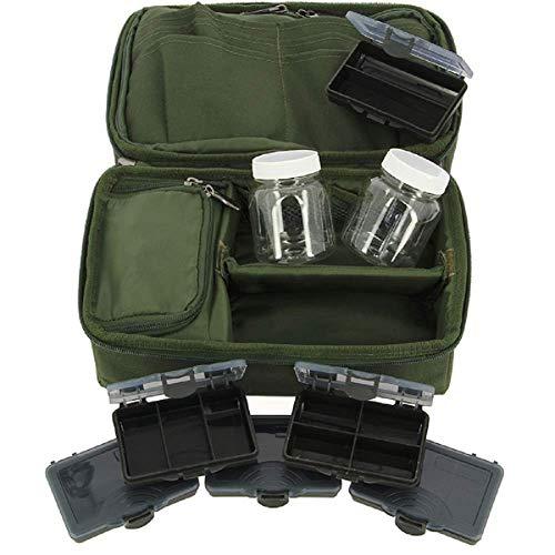 g8ds® Allround-Karpfen-Aufbewahrungssystem Rig Pouch Bit Box Glug Pot Bleitasche Leadbag Tackle Angeln