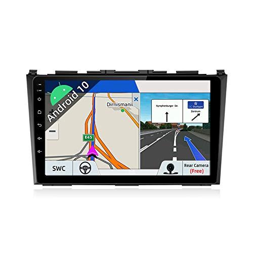 JOYX Android 10 Autoradio Compatibile Per Honda CRV (2007-2011) - [2G+32G] - 2 DIN - Telecamera Gratuiti - 9 Pollici IPS 2.5D - Supporto DAB 4G WLAN Bluetooth Carplay Mirrorlink Volante Android Auto