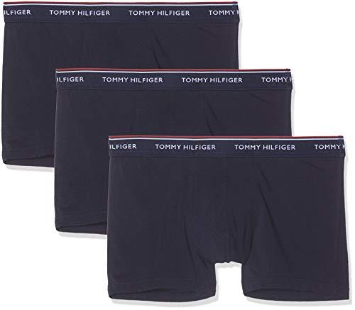 Tommy Hilfiger Herren 3p Trunk Shorts, Blau (Peacoat-Pt 409), M (3er Pack)