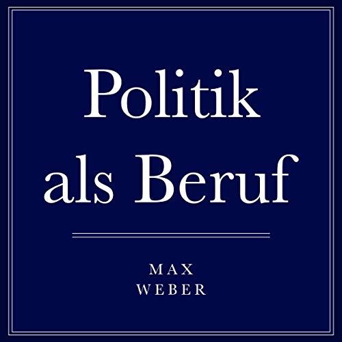Politik als Beruf Titelbild