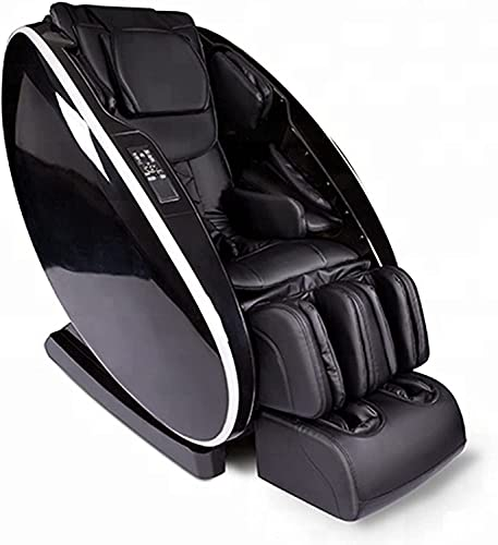 BDYALINGVN Silla de Masaje de Cuidado Corporal/Silla de Masaje 4D, sillón de Masaje reclinable con Silla reclinable con Cero Gravedad Masaje de airbag de Bluetooth Altavoz Pie Roller