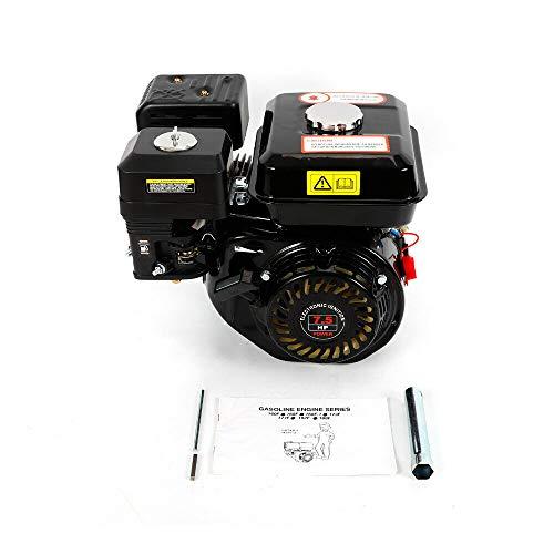 TFCFL Motor de Gasolina 4 Tiempos 7,50 PS / 5,1 KW / 3600 RPM,Motor de Kart,Refrigerado por Aire,Alimentación por Gravedad,Motor Industrial, para Bombas (Tipo 3)