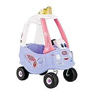 little tikes 173165E3 Ride On Push Along Car Walker Cozy Coupe Vehicle, Purple