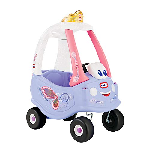 little tikes 173165E3 Ride On Push Along Car Walker Cozy Coupe Vehicle, Purple