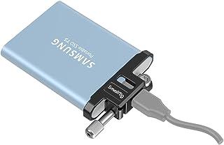 SMALLRIG Morsetto per Cavo Compatibile con T5 SSD, Protezione per Morsetto per Cavo USB-C per BMPCC 6K Pro Cage 3270 - 3300