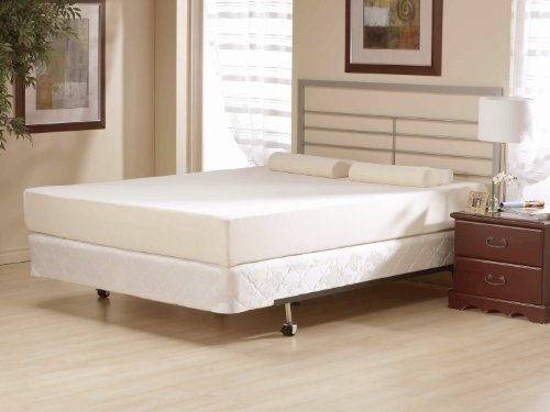 Best Prices! 6 Inch Flipable Double Sided Memory Foam & High Density Foam Mattress Size Cal King