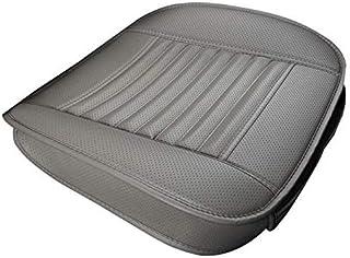 Cojín del asiento de coche modificado for fundas de los asientos de sillas de automóvil sin tapizar cojines de silla de coche cubren los accesorios del coche (Color: Gris), Nombre de color: color caqu