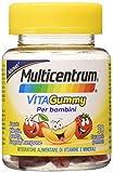 Multicentrum Vitagummy Integratore Alimentare Per Bambini Multivitaminico Completo, Vitamine D, A-Z, Gusto Vari Frutti, 30 Caramelle Gommose - 54 g