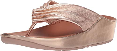 Fitflop Twiss, Sandales Bout Ouvert Femme, Rose (Rose Gold 323), 38 EU