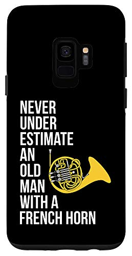Galaxy S9 Never Underestimate An Old Man With A French Horn Case