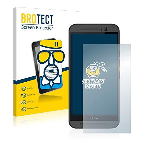 brotect Pellicola Vetro Opaca Compatibile con HTC One M9 Protezione Schermo Anti-Riflesso Durezza 9H, AirGlass