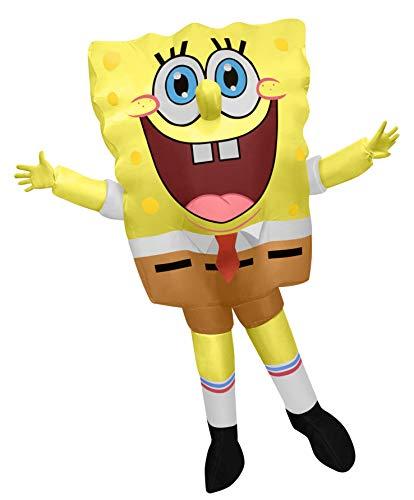 Disfraz inflable de Bob Esponja para adulto - - Talla única