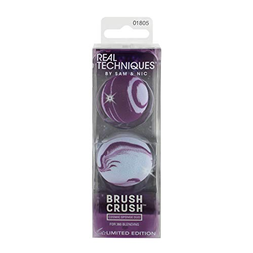 Real Techniques Brush Crush Volume 2 Cosmic Make-up Schwamm Blending Duo 2 Pack
