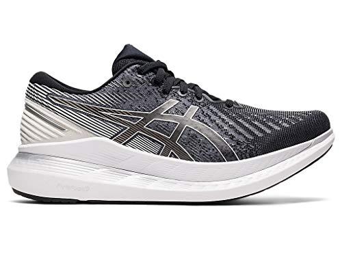 ASICS Women's Glideride 2 Running Shoes, 8M, Black/White