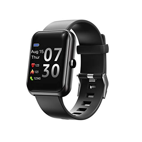 Amaxos Ax20 Smartwatch Fitness Tracker for iOS Android Bluetooth Smart Watches Sports Watches Heart Rate Monitor Blood Pressure