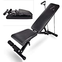 Elecwish 440 lbs Capacity Adjustable Weight Exercise Bench