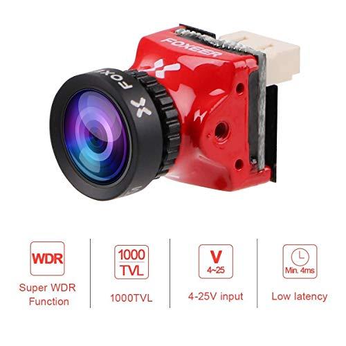 FOXEER Predator V3 Mini FPV Videokamera M8 1,8 Linse Rot