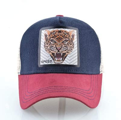 Unisex Baseball Cap Men Summer Snapback Mesh Hats For Women Hip Hop Trucker Fashion Streetwear Caps-Red1