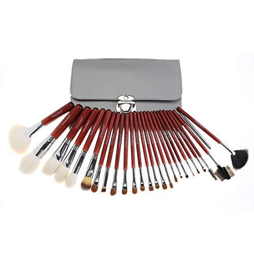 Ensemble de pinceaux de maquillage Maquillage Pinceaux 26 Pcs Premium Synthétique Fondation Kabuki Mélange Fard À Paupières Visage Brosse Set Nylon Brosse Cosmétique (Couleur : A5)