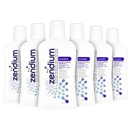 Zendium Original Mondwater, voor een frisse adem – 6 stuks (500ML)