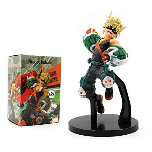 Animazione: My Hero Academia Katsuki Bakugo Action Figure in PVC da collezione Super Figura, regalo per bambini, multicolore