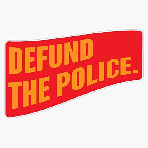 """[Proceeds Go To Blm] Defund The Police Sticker Sticker Vinyl Bumper Sticker Decal Waterproof 5"""""""