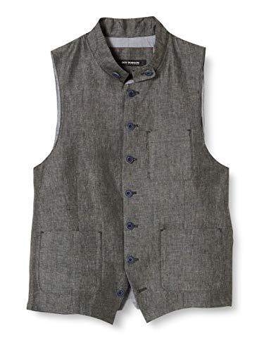 Roy Robson Herren 005025711785800 Anzugweste, Grau (Charcoal A010), (Herstellergröße:48)