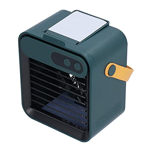 Eosnow Enfriador de Aire, Ventilador de Aire Acondicionado Que humedece con diseño de Soporte para teléfono Celular para enfriamiento en Interiores