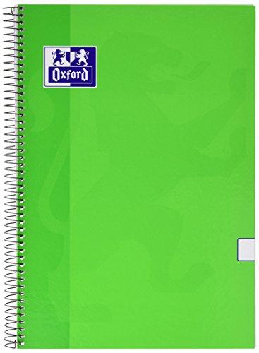 Oxford 341688 - Cuaderno liso con margen, formato folio, 80 hojas, 1 cuaderno