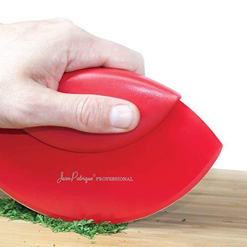 Jean-Patrique Excalibur Mezzaluna Herb & Salad Chopper (Red)