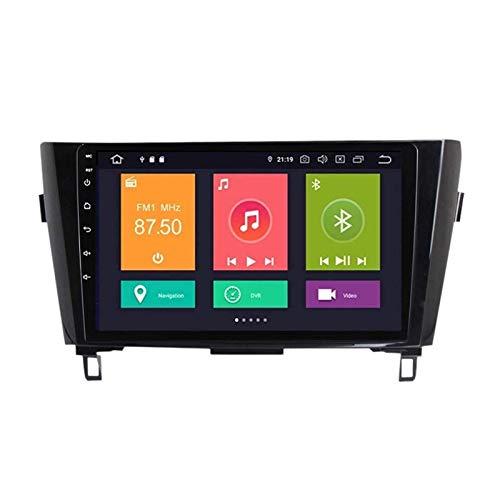 ZHANGYY Reproductor de Radio estéreo para Coche Touch Sn de 9 Pulgadas Compatible con Nissan X-Trail 2013-2016, navegación GPS Android 10.0, FM/RDS/DSP/Bluetooth/Mirrorlink/cámara Trasera,