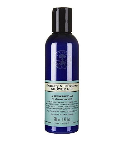 neal' S yard Remedies rosmarino & Elderflower gel doccia 200ml