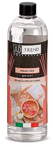 AD TREND-STAR Ricarica per diffusore a midollini Profumo Magic Spa 500 ml