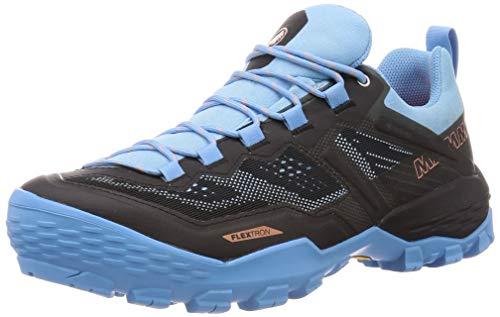 Mammut Damen Zapatilla DUCAN Low GTX Sneaker, Black/Whisper, 38 EU