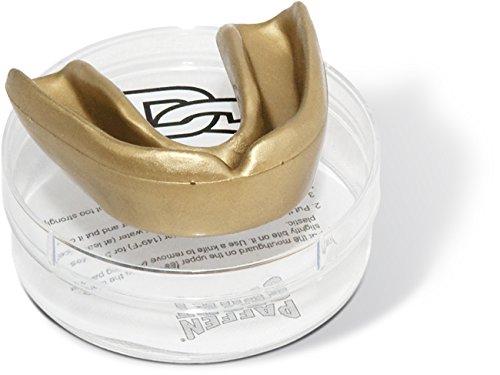 Paffen Sport Allround Mint Zahnschutz, Gold, für Erwachsene – Made in Germany