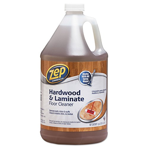Zep 1041692 Hardwood and Laminate Cleaner, 1 gal Bottle