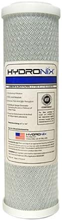 Hydronix CB-25-1005 NSF Carbon Block Filter 2.5 OD X 9 7/8 Length,  5 Micron