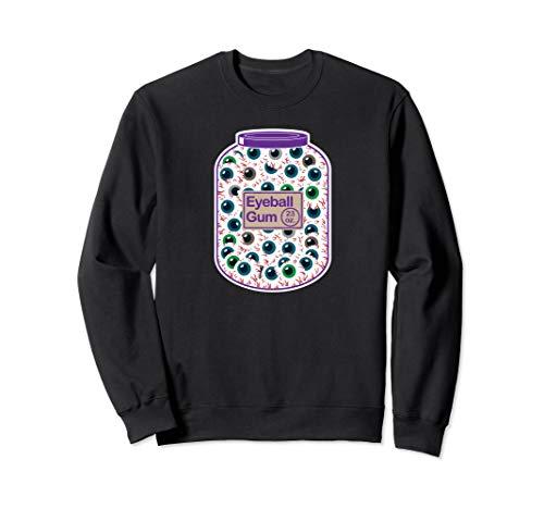 Eyeball gum jug funny joke Halloween gift item men women Sweatshirt