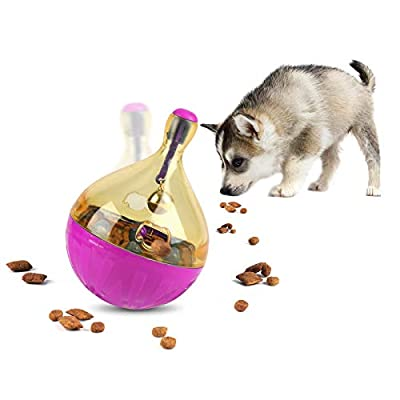 FREESOO Dog Puzzle Interactive Toys Puppy Treats Ball Food Dispenser IQ Training Slow Eating for boredom Small Medium Dogs Cats