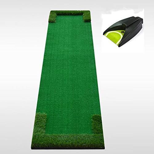 ZhuFengshop Golf, de praktijk plafond binnentuin golfgroen met automatische bal-terugzetmat - 48 cm * 300 cm Zit binnen, buiten, kantoor