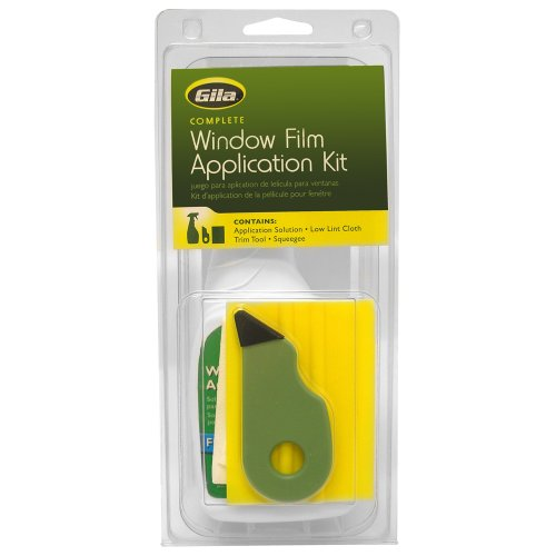 Gila RTK500 06008001427 Window Film Complete Installation Kit, 1-Pack