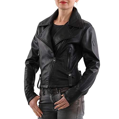Matchless Damen Nappa Leder Jacke Regent Blouson Black 123152 Größe (42) S
