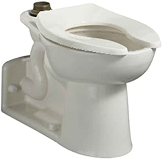 American Standard 3696.001.020 Priolo Right Height Elongated Top Spud Toilet Bowl Only with Slotted Rim, White