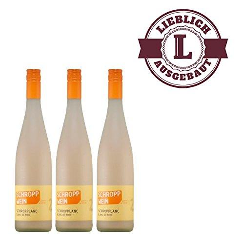 Weißwein Schropplanc (Blanc de Noir) | Trollinger Qualitätswein 2015 mild (3x0,75l)